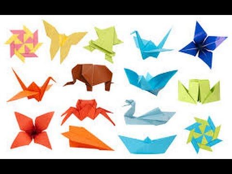 faltanleitung origami tiere 2 huhn youtube. Black Bedroom Furniture Sets. Home Design Ideas