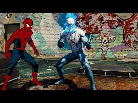 UNLOCKING SPIRIT SPIDER + VINTAGE SUITS!!    Spider-Man PS4 w/Thinknoodles!