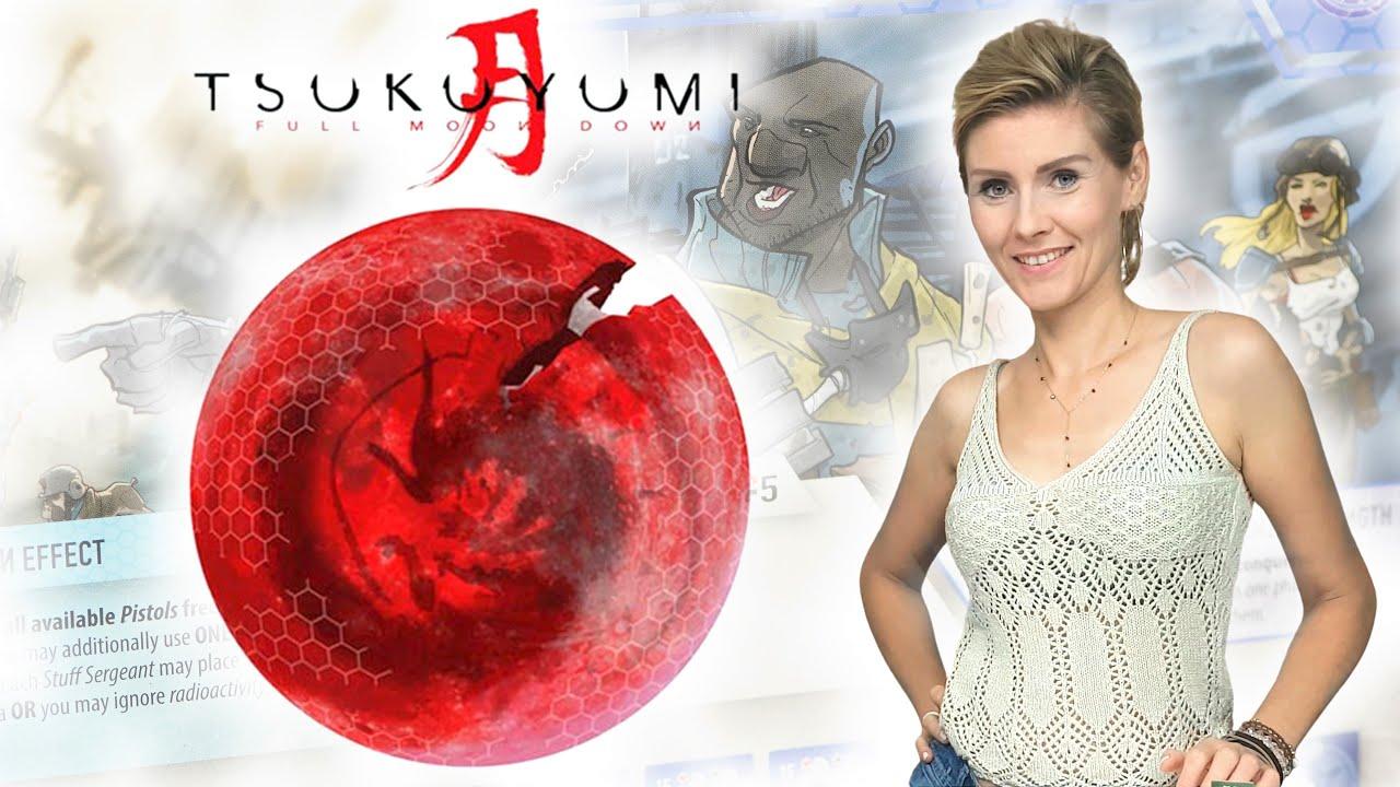 Tsukuyumi Full Moon Down │ gra planszowa