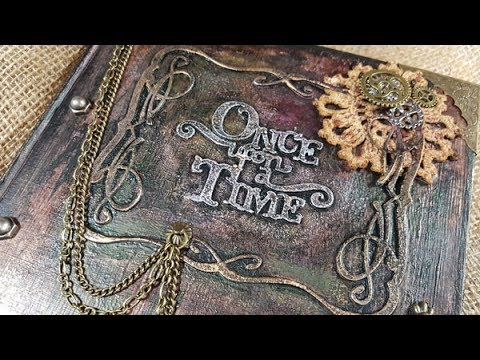 Steampunk Book Cover Tutorial