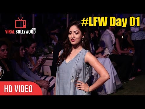 Yami Gautam At Lakme Fashion Week 2018