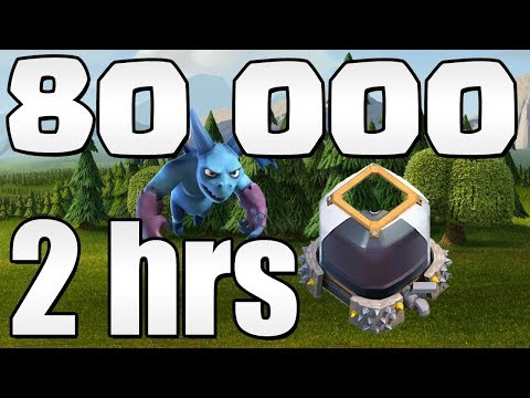 80kde in 2 HOURS!  TH9 Dark Elixir Farming Live Stream!  Clash of Clans