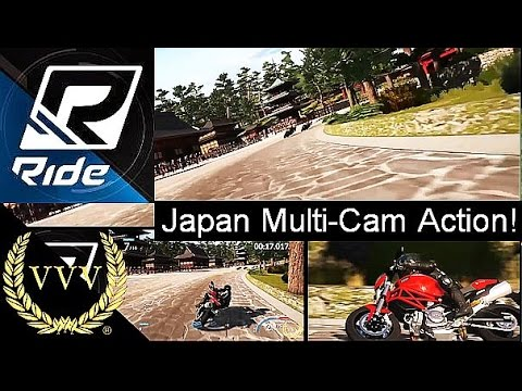 Ride - Japan - Multi-Cam Action