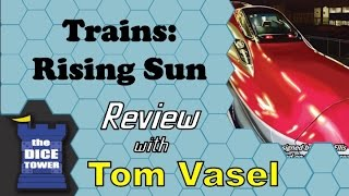 Trains Rising Sun Review - with Tom Vasel