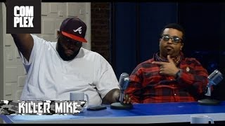 Killer Mike & EL-P on The Combat Jack Show Ep. 1 (Talking about Mike