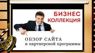 Обзор Бизнес Коллекции  Продвижение сайта.