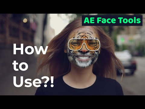 AE Face Tools - How To Use - Review By Videolancer