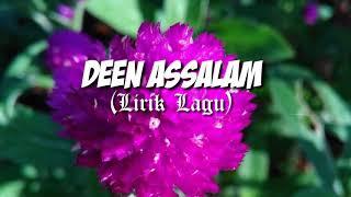 NISSA SABYAN 'DEEN ASSALAM' - Lirik Lagu