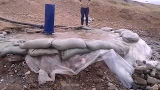 Насос Гидротаран ГТ-300 в селе Кызыл-Октябрь. www.gidrotaran.kz