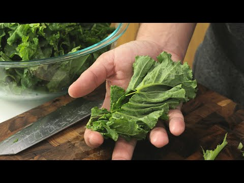 Tasty Kale Chips Made in The Dehydrator