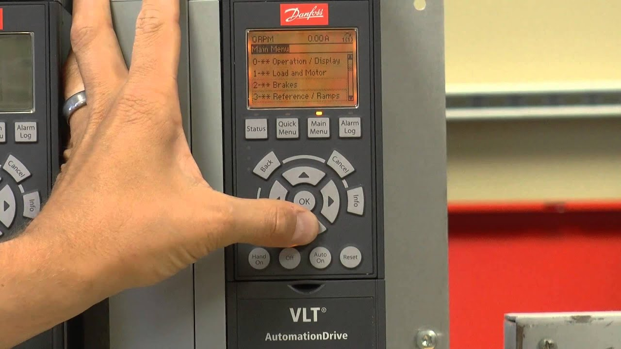 VLT AutomationDrive Quick Start Tutorial  YouTube