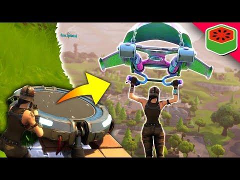 NEW JUMP PAD FLANK!   Fortnite Battle Royale
