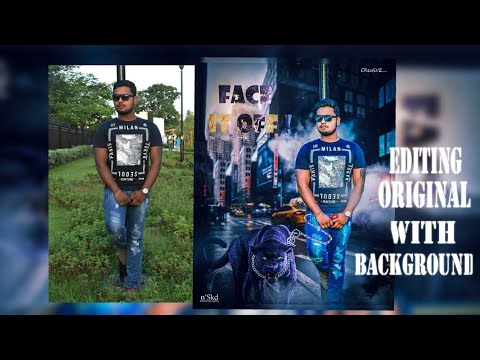 FACE IT OFF! POSTER DESIGN    FULL PHOTOSHOP TUTORIAL   OM NAMOH SHIVAY   