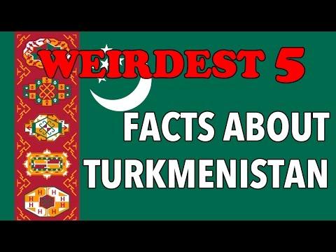 Top 5 Weirdest Facts You Didn't Know About Turkmenistan
