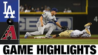 Dodgers vs. D-backs Game Highlights (7/30/21) | MLB Highlights
