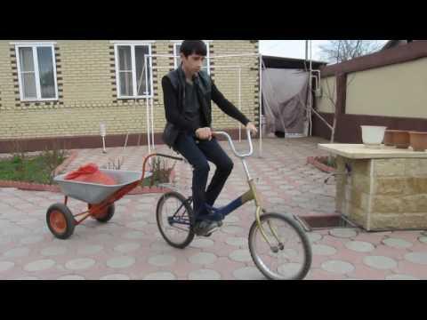 Прицеп к велосипеду -  простое устройство.