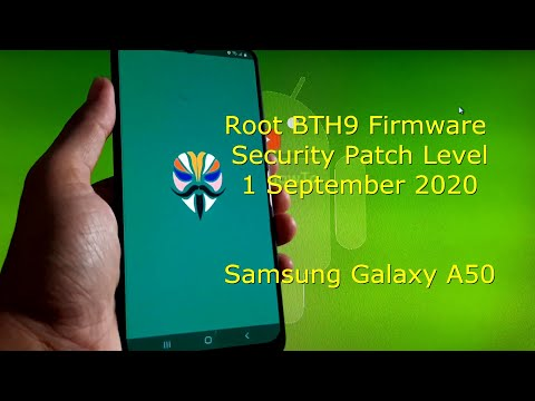 How to Root Samsung Galaxy A50 BTH9 Firmware SPL 1 September 2020