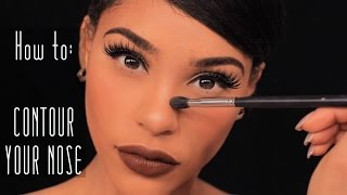 3 ways to contour define your nose the not so dramatic way