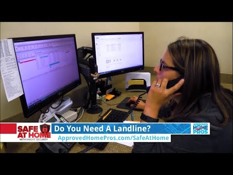 Do You Need A Landline For A Home Security System?