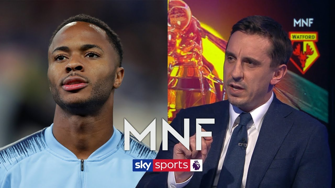 Gary Neville hails Raheem Sterling's performance levels a 'miracle' after the abuse h