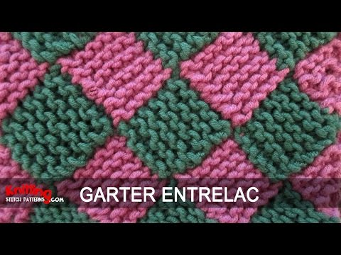 Knitting Stitch Patterns Entrelac : Garter Entrelac Knitting - ViYoutube