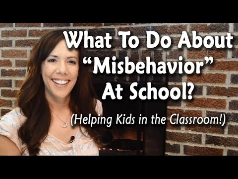 """School """"Misbehavior"""" & What to Do About It thumbnail"""