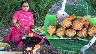 KFC Fried Chicken | Chicken Legs Fry In My Village | How to Make Better Than KFC Chicken | Sea Foods