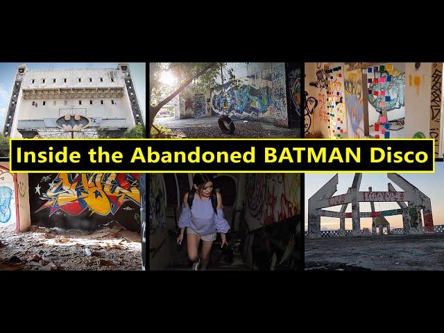 Inside the Abandoned BATMAN Disco  -  Pattaya, Thailand (2 April 2021)