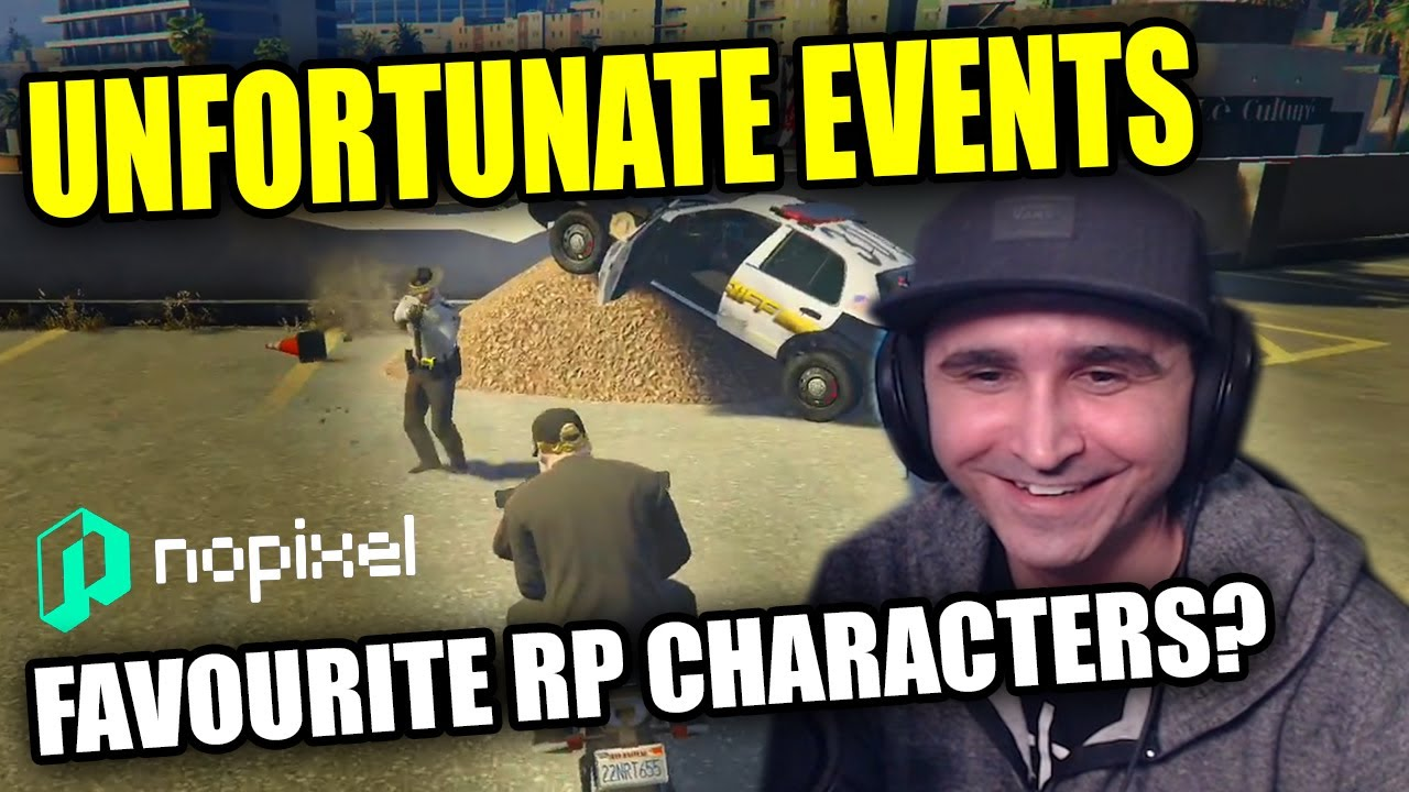 Summit1g SERIES OF UNFORTUNATE EVENTS + FAVOURITE RP CHARACTERS?