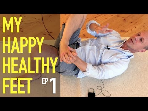The foot and its toes (1) My happy healthy feet - Feldenkrais With Alfons