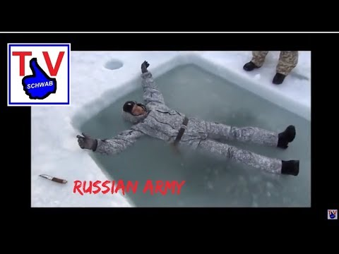 Russian army winter equipment uniform in arctic waters / russische Armee / Русская Армия Спецназ