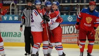 MS v hokeji U20 2016  Česko - Rusko 1:2sn