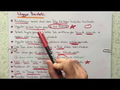 6. Sınıf Sosyal Bilgiler - İpek Yolunda Türkler -3
