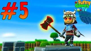 Мультик про Рыцарей Порталов Создаем Боевую Броню игра для детей похожая на Minecraft Portal Knights