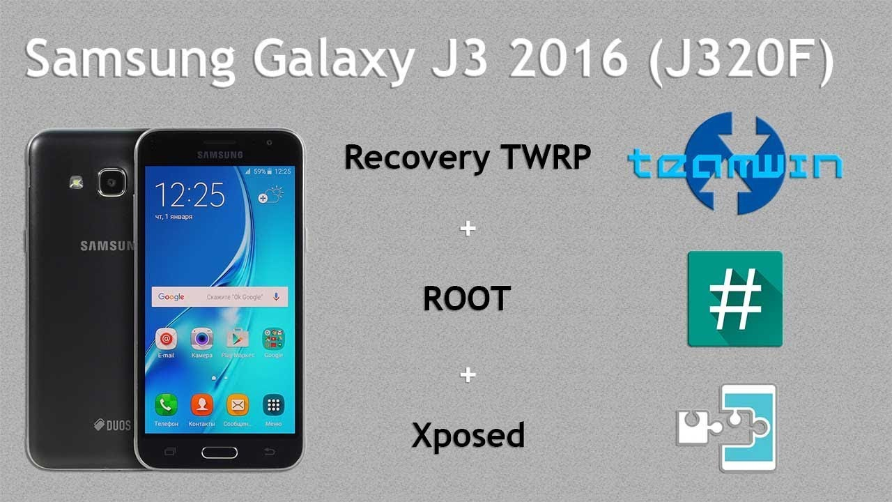 GUIDE] How to install TWRP, ROOT (SuperSu/M… | Samsung Galaxy J3 (2016)