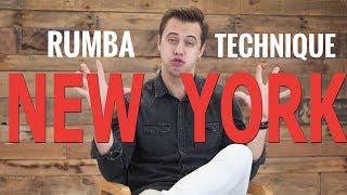 How to dance NEW YORK in Rumba |TECHNIQUE | Latin Dance Tutorial