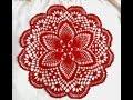 "Салфетка крючком ""Весенняя""_Часть_1_Doily crochet ""Spring"""