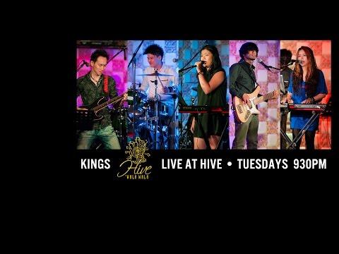 KINGS live performance at HIVE by WALA WALA