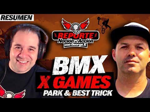 Resumen X Games 2021 con George X y Erik Garza Oro de Kevin Peraza en BMX Park y 1260 de Mike Varga