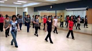 What A Thrill - Line dance (Walk thru & Danced)