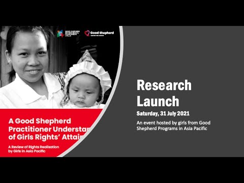 Launch of Research - Rights Realisation by the Girl Child in Asia Pacific