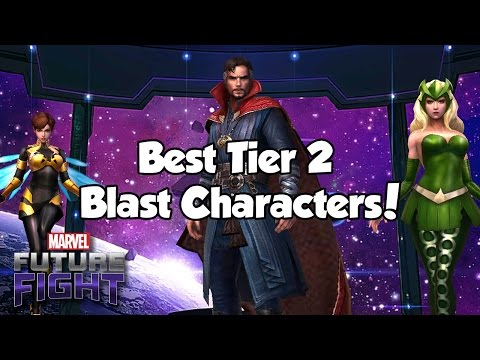 [Marvel Future Fight] Best Tier 2 Blast Characters!