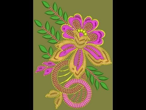 Embroidery Designs For Cording Butta, Cording Patchwork, Suit Patch