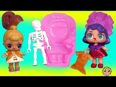 JELLY Outfits LOL Surprise Big Sister Customs Peanutbutter + Jelly Video
