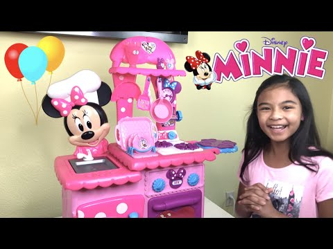 Baby Alive Breakfast In Bed + Minnie's Flippin' Kitchen Pretend Play | Toys Academy