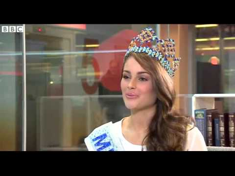 BBC News   Miss World 2014  How my African heritage helped me win 2