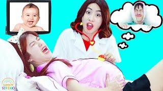 PREGNANCY PRANK ! Funny Pregnancy Pranks & Pregnancy Situations ! Pregnancy Hacks For Girls