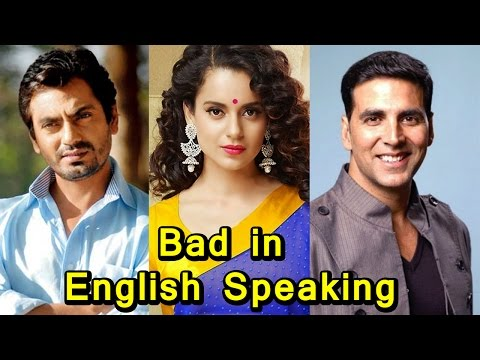 Thumbnail: Top 10 Celebs Who Are Bad In English Speaking (2017)