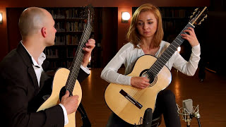 Oriental By Enrique Granados  Classical Guitar Duet