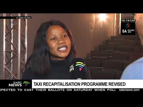 Taxi recapitalisation programme revised